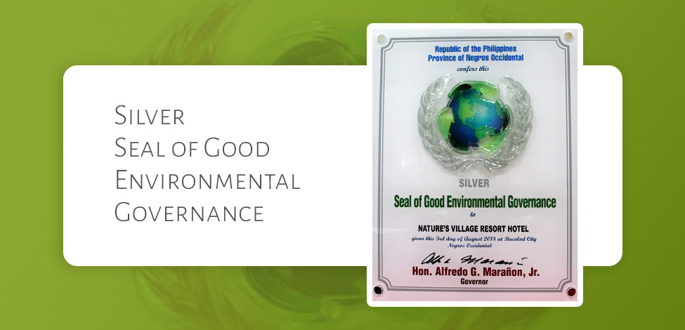 Silver Seal of Good Environmental Governance