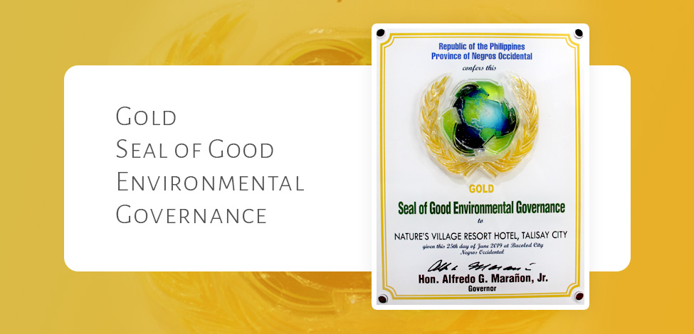 Gold Seal of Good Environmental Governance